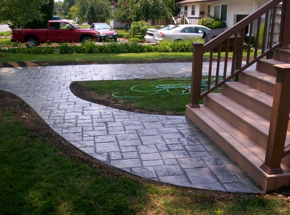 Long Island Concrete Long Island Stamped Concrete